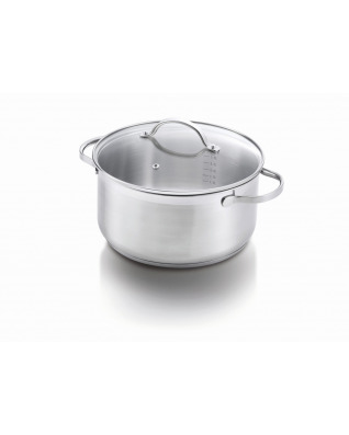 Amsterdam Casserole 24cm with glass lid