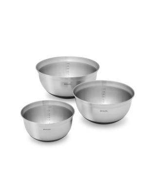 Mixing Bowl Set (1L, 1.6L, 3L) Matt