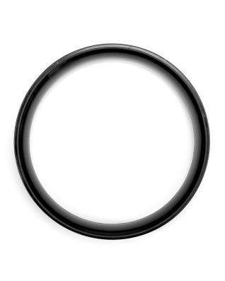 Plastic Top Ring for Body Bin 50 litre, diameter 40cm - Black