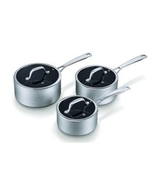 Brabantia Technopro Saucepan Set