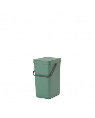 Sort & Go Waste Bin 12 litre - Fir Green