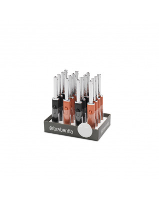 Tasty+ Flame Lighter Display 16 pieces in CDU - Mixed Colours