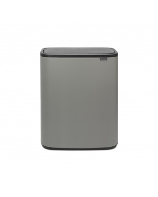 Bo Touch Bin 2 x 30 litre - Mineral Concrete Grey