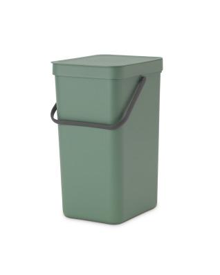 Sort & Go Waste Bin 16 litre - Fir Green