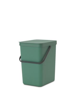 Sort & Go Waste Bin 25 litre - Fir Green